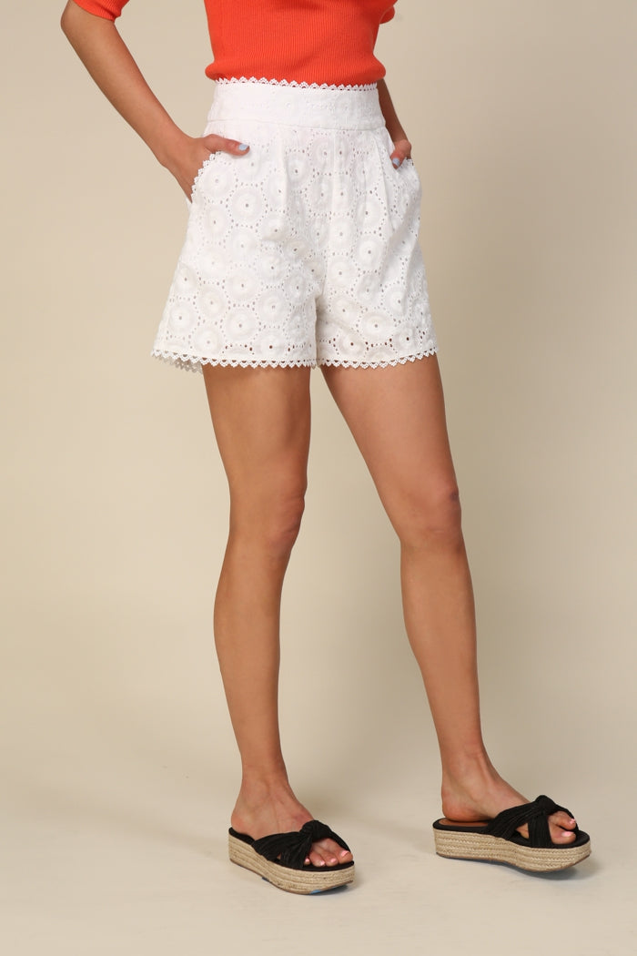 Line and Dot Mona Shorts LH4051B