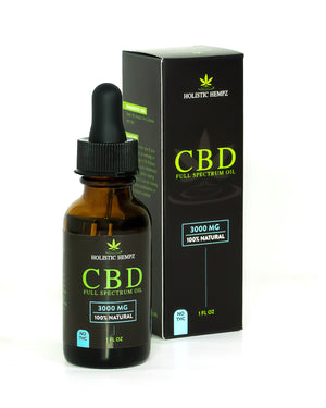 3,000mg CBD Oil - Holistic Hempz - This full-spectrum, all natural CBD oil is formulated to help treat ailments such as chronic pain related to arthritis or anxiety related to PTSD. Our oil is CO2 extracted and third party tested to ensure quality oil is produced. We offer retail and wholesale purchase options.