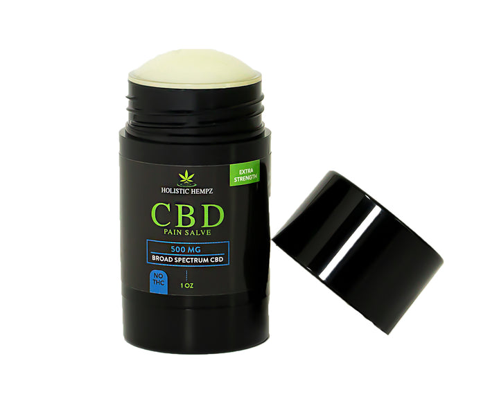 Directly target your joint and muscle pain with this cannabidiol(CBD) infused pain salve. No mess application, no burn, topical pain relief.