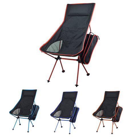 Tall Packable Camp Chair