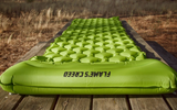 Flames Creed Inflatable Camping Mat with Pillow