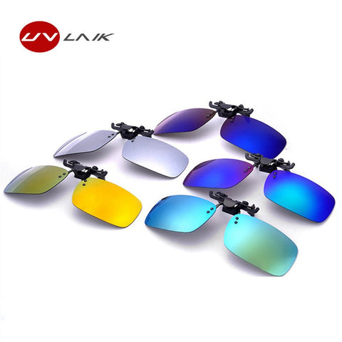 Clip-On Flip-Up Sunglasses