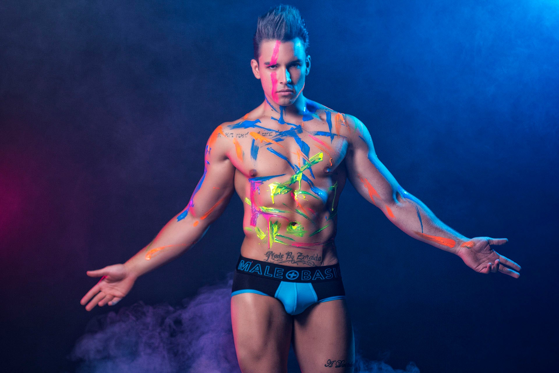 Malebasics Neon Briefs