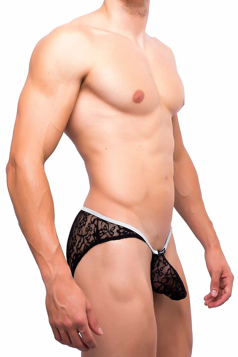 Joe Snyder | Sock It Bikini | Black Lace