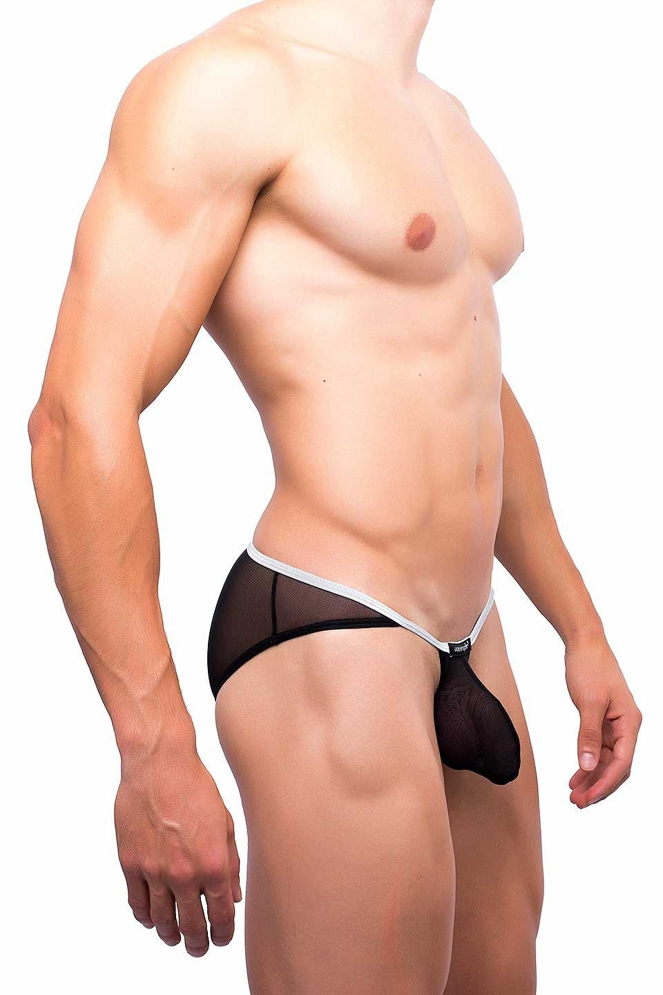 Joe Snyder | Sock It Bikini | Black Mesh