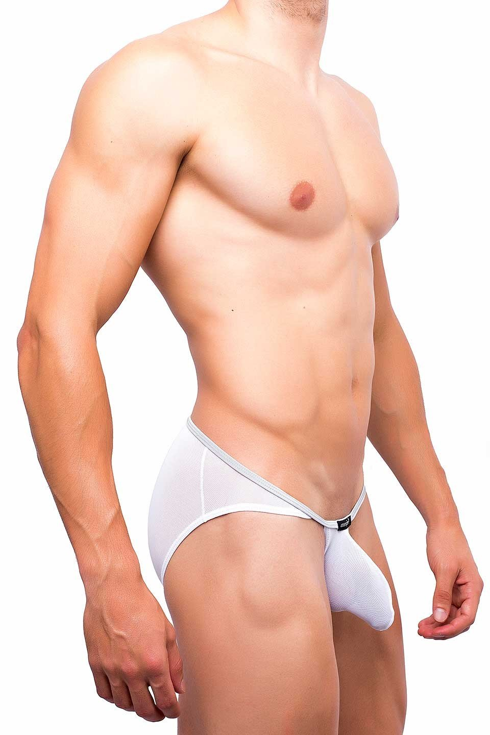 Joe Snyder | Sock It Bikini | White Mesh