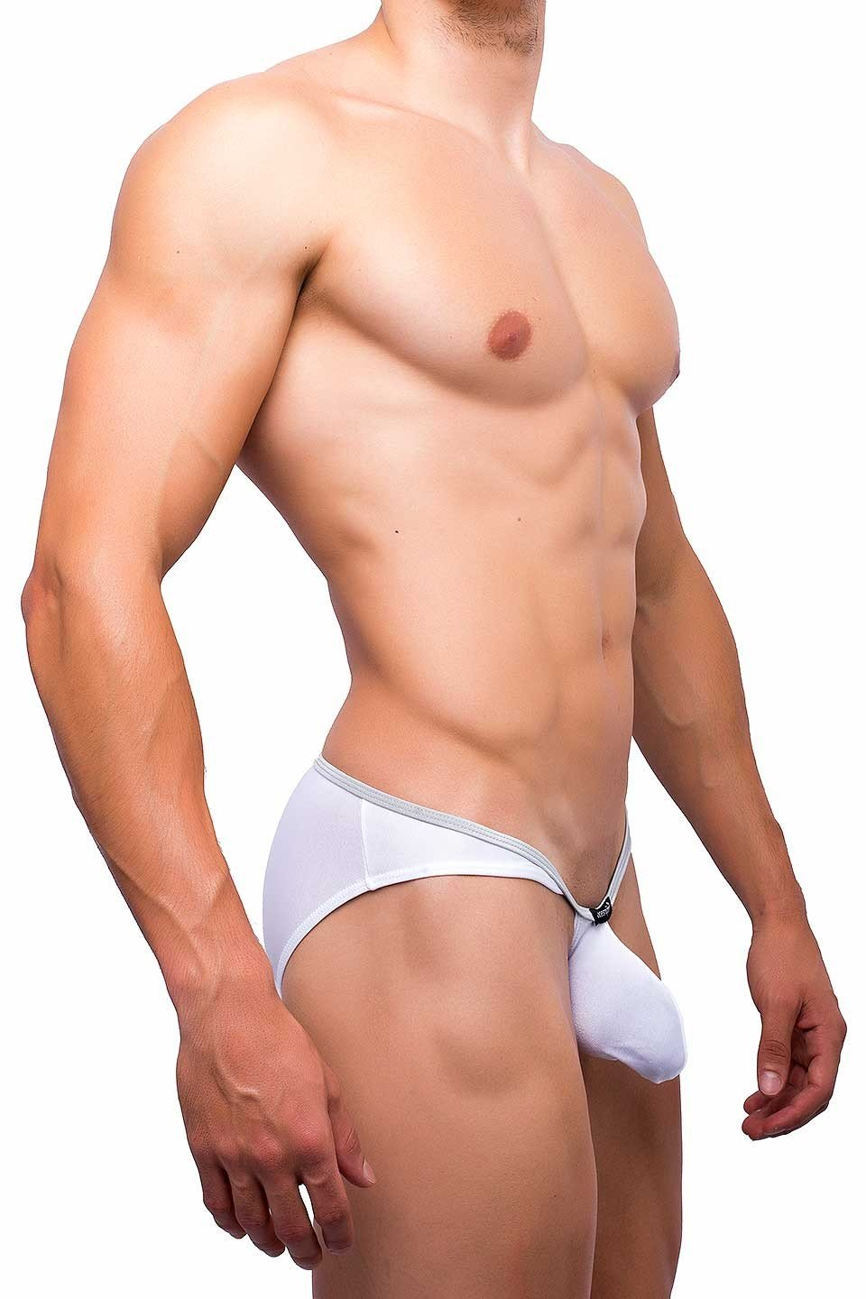 Joe Snyder | Sock It Bikini | White