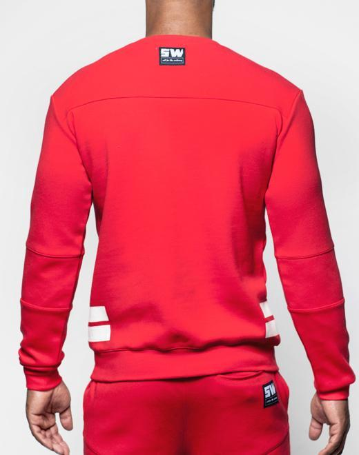 Supawear | Crimson Sweater | Red
