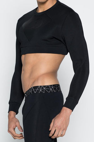 2eros | BLK AKTIV Short Sweater