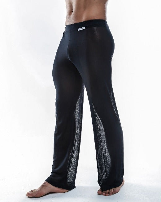 Joe Snyder | Sheer Lounge Pants | Black Mesh