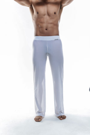 Joe Snyder | Sheer Lounge Pants | White Mesh