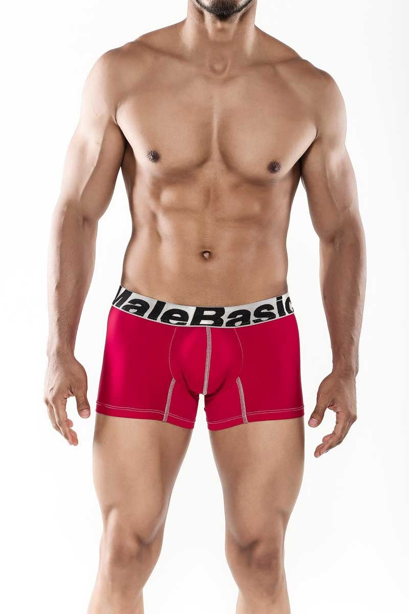 MaleBasics Sports Performance Trunk Red