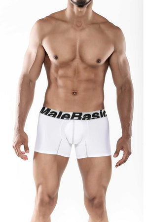 MaleBasics Sports Performance Trunk White