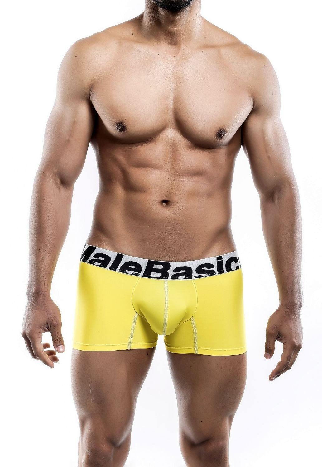 MaleBasics Sports Performance Trunk Yellow