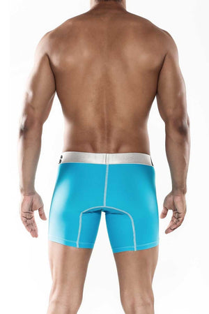 MaleBasics Sports Performance Boxer Brief Turquoise