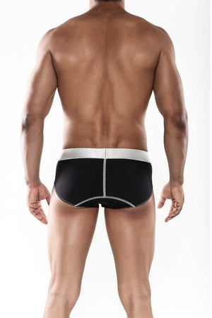 MaleBasics Sports Performance Hip Brief Black