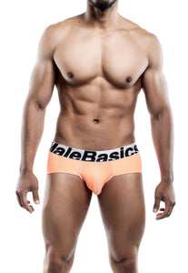 MaleBasics Sports Performance Hip Brief Orange