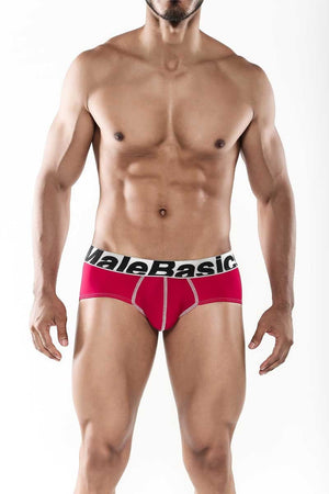 MaleBasics Sports Performance Hip Brief Red