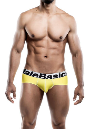 MaleBasics Sports Performance Hip Brief Yellow