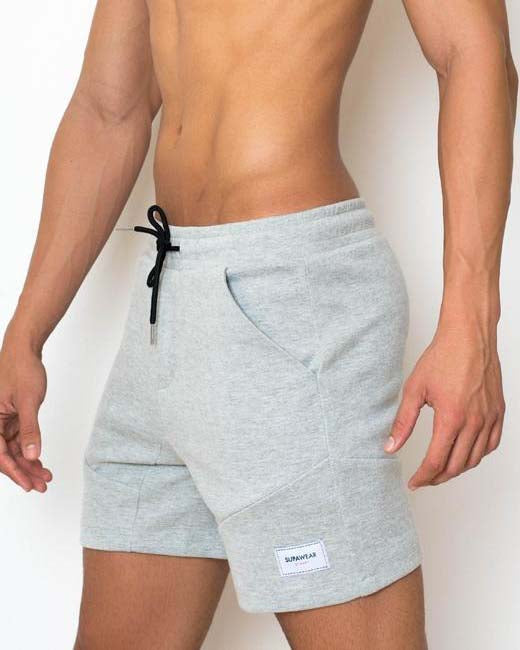 Apex Shorts | Grey Marle
