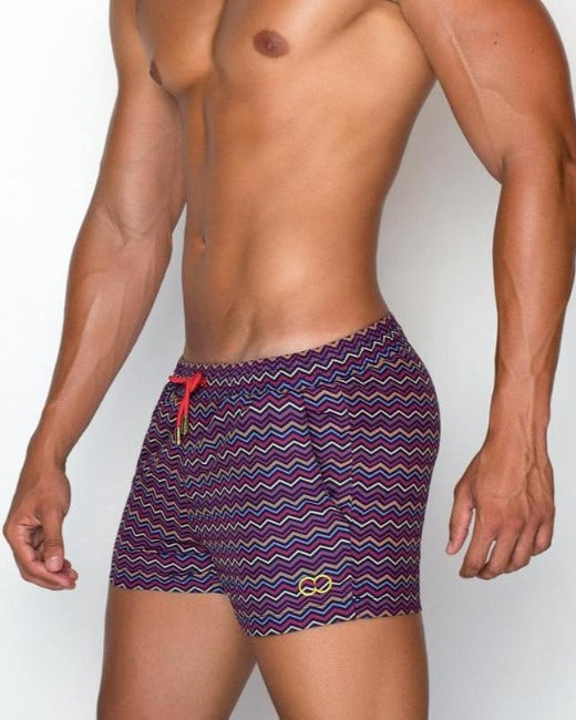 S50 Chevy Swim Shorts | Red Earth