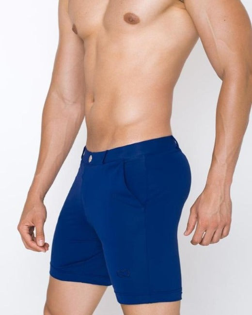 S61 Long Bondi Shorts | Navy