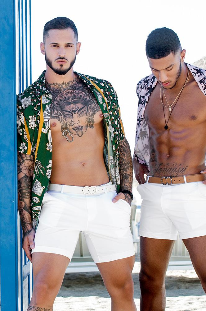S61 Long Bondi Shorts | White