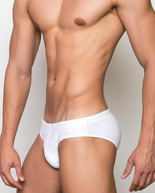 V10 Core Swim Brief | White