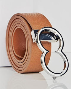 BL10 Leather Icon Belt | Tan