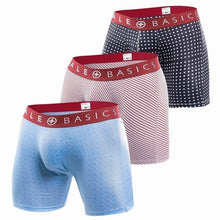 Load image into Gallery viewer, Red Band Pattern Boxer Brief | 3 Pack