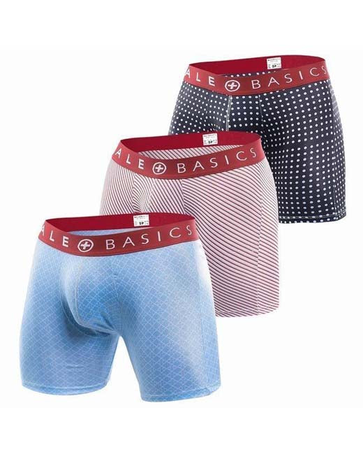 Red Band Pattern Boxer Brief | 3 Pack