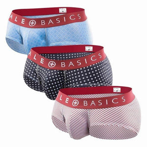 Red Band Pattern Brief | 3 Pack