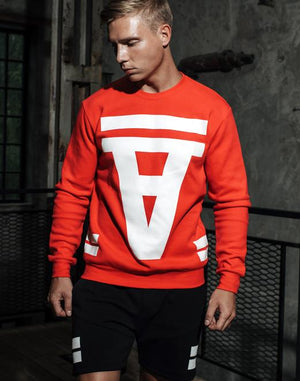 Crimson Sweater | Red