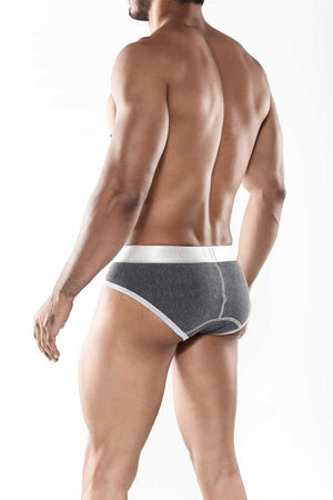 Classic Everyday Contrast Briefs Asphalt