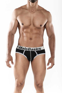 Classic Everyday Contrast Briefs Black