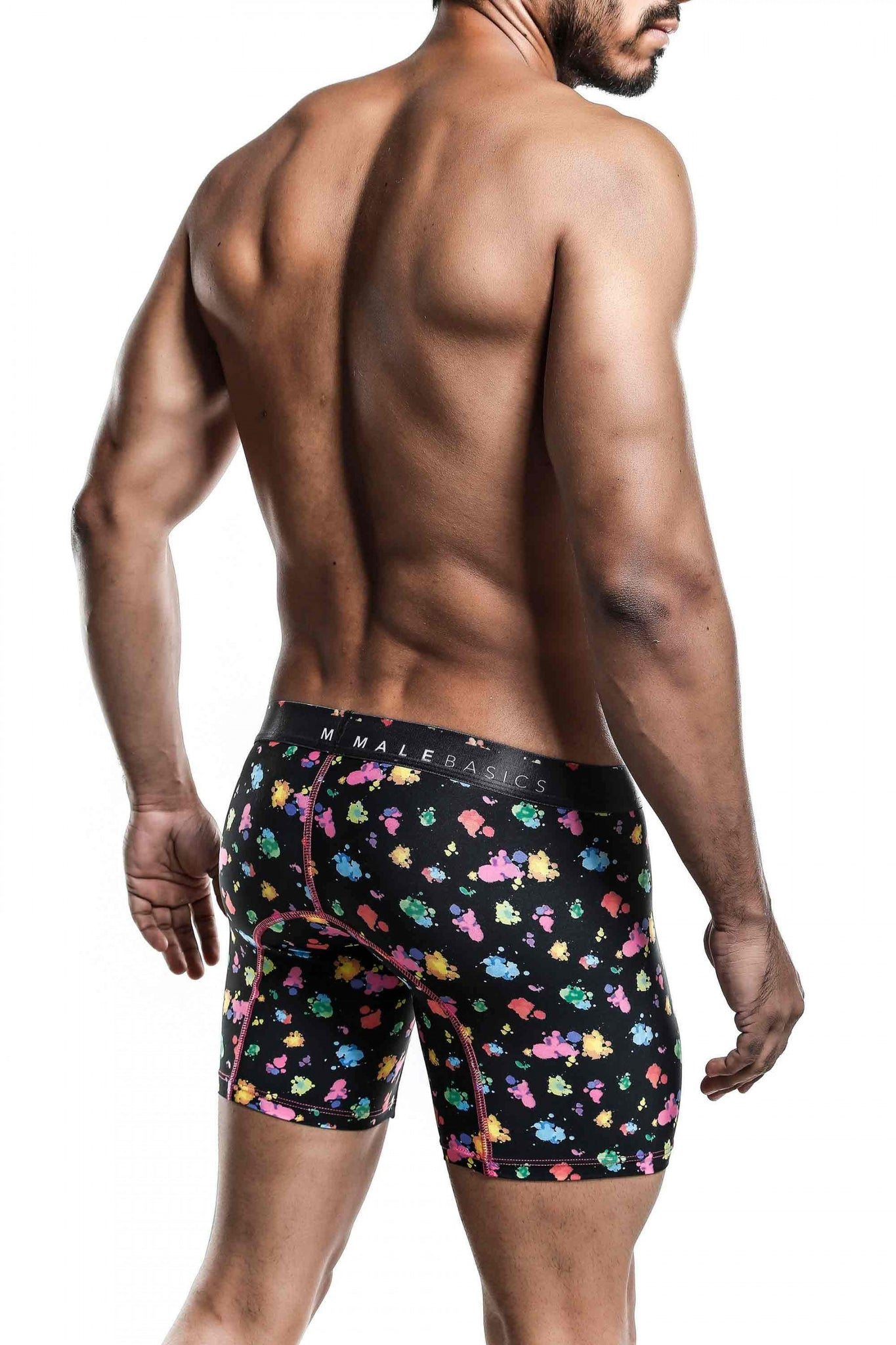 Hipster Boxer Brief | Black Splash