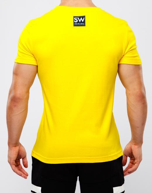 Sports Club T-Shirt | Yellow