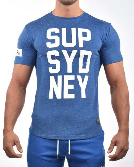 SUP T-Shirt | Navy Marle