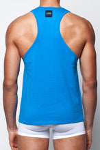 Load image into Gallery viewer, TX12 Anchor Singlet | Blue