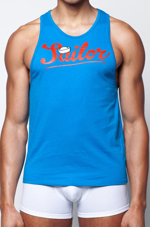 TX12 Anchor Singlet | Blue