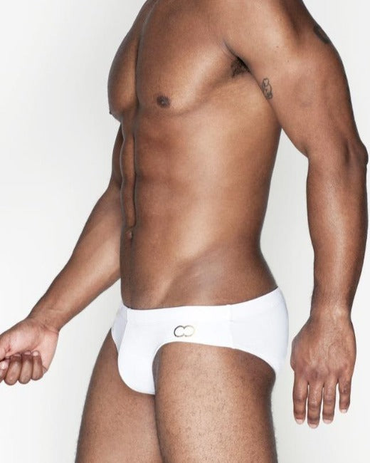 V10 Icon Swim Brief | White