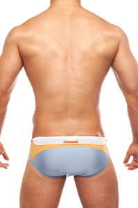 V13 VIPER Swim Brief | Silver