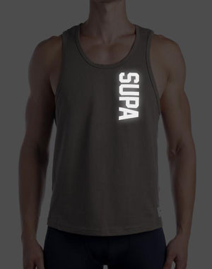 Strike Singlet | Walnut