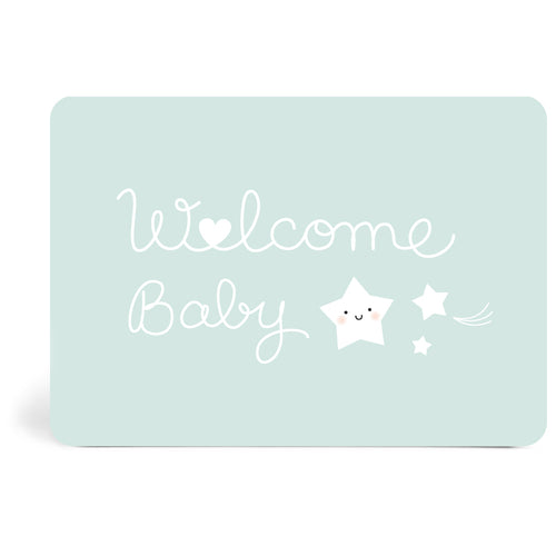 Carte welcome mint
