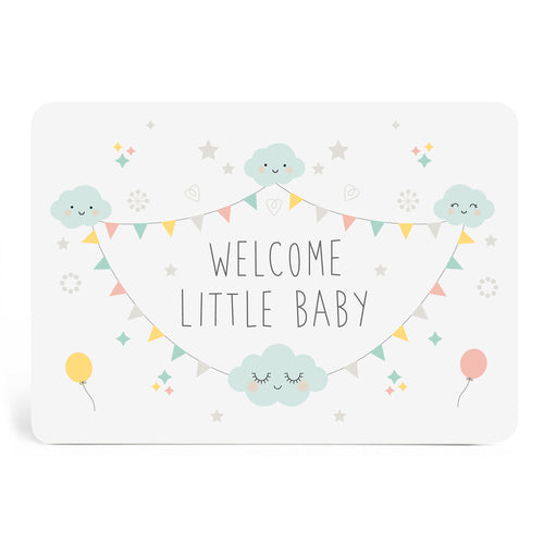 Carte welcome baby
