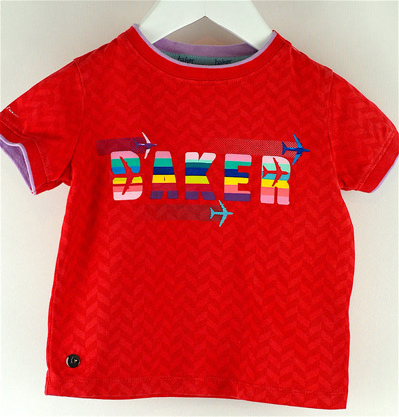 Ted Baker Red Baker Tee Age 12-18 mths