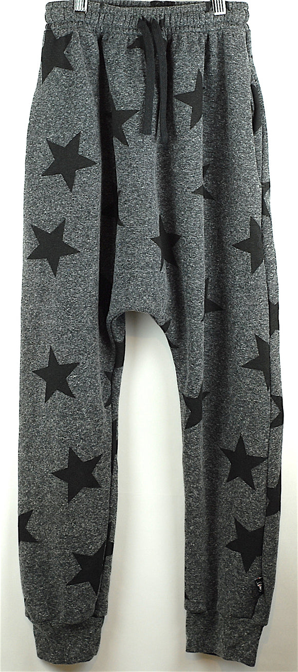 Nununu Grey Star Harem Pants Age 12-14