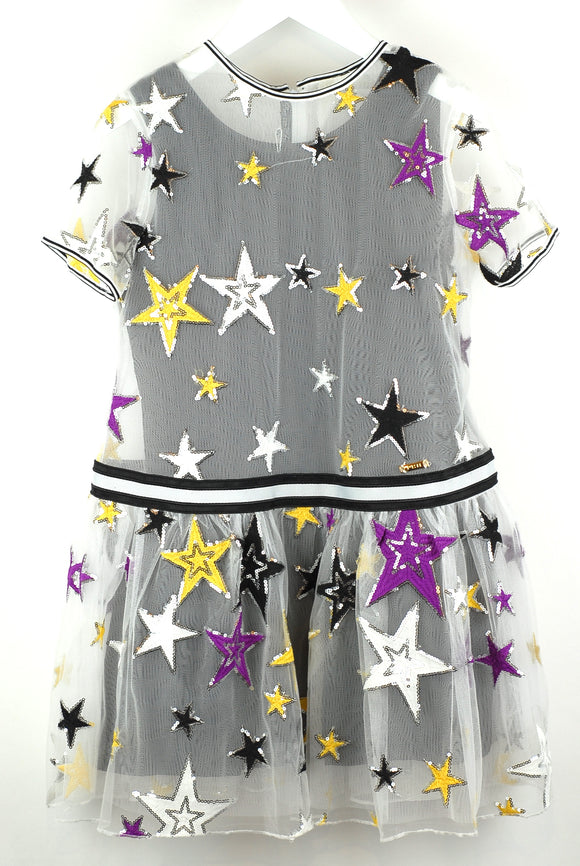Pan Con Chocolate  Sequin Star Dress