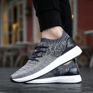 LAISUMK Mens Casual Breathable Sneakers