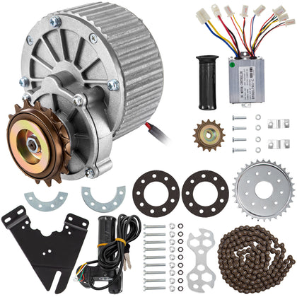 450w 36v Electric Bike Drive Conversion Kit Motor Conversion For Common Bike